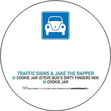 TRAFFIC SIGNS & JAKE THE RAPPER COOKIE JAR Vinyl Record