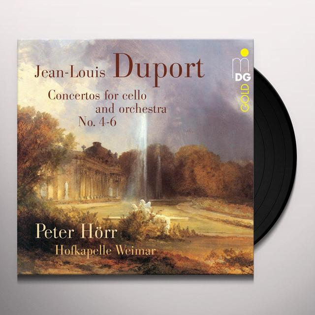 Jean-Louis Duport CONCERTOS FOR CELLO & ORCHESTRA NO. 4-6 Vinyl Record