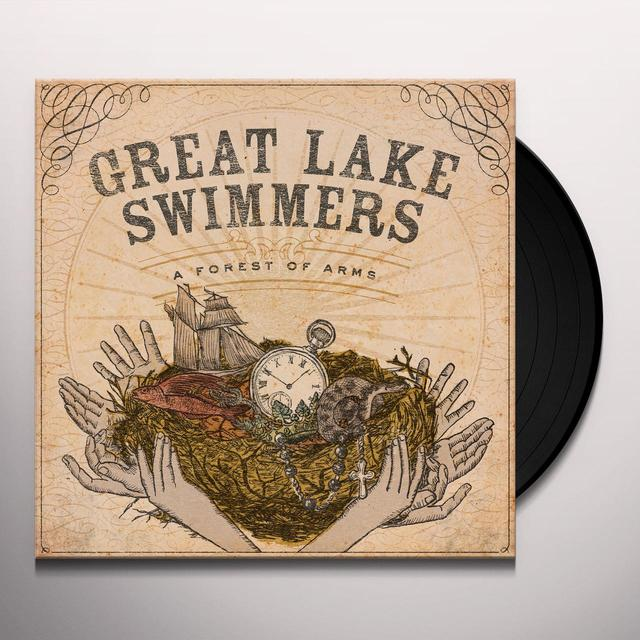 Great Lake Swimmers FOREST OF ARMS Vinyl Record