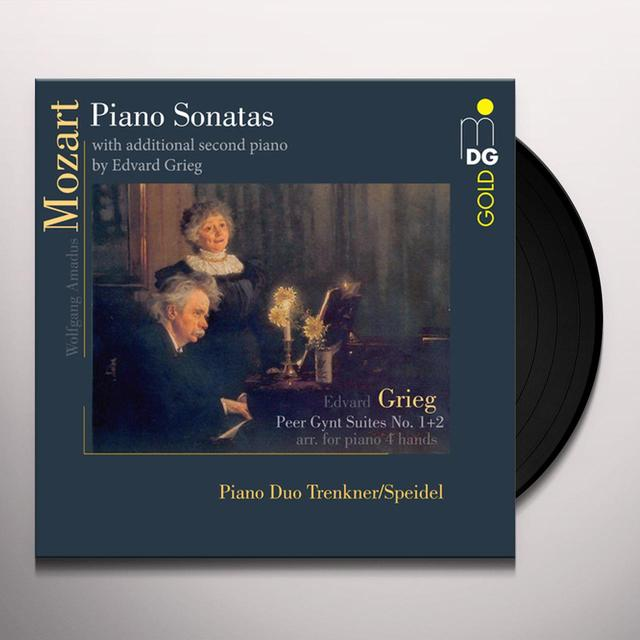 Evelinde Trenkner / Sontraud Speidel MOZART PIANO SONATAS & GRIEG PEER GYNT SUITES Vinyl Record