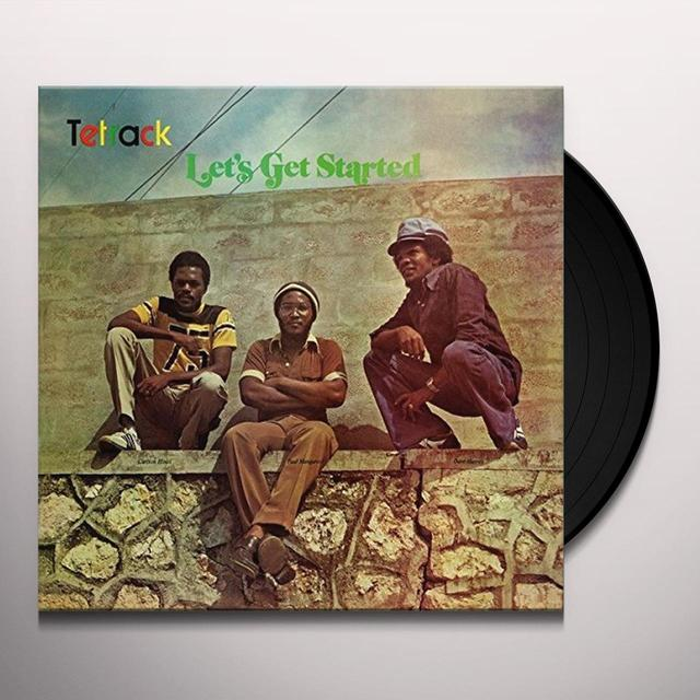 Tetrack LET'S GET STARTED Vinyl Record - Italy Import