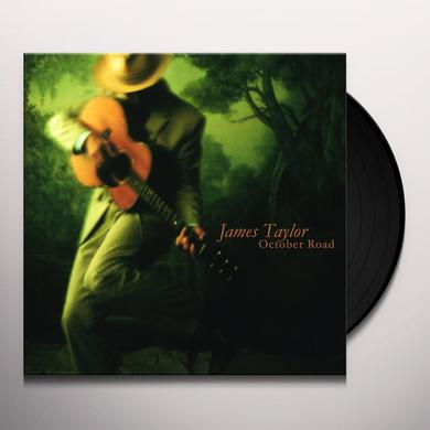 James Taylor OCTOBER ROAD Vinyl Record - Holland Import