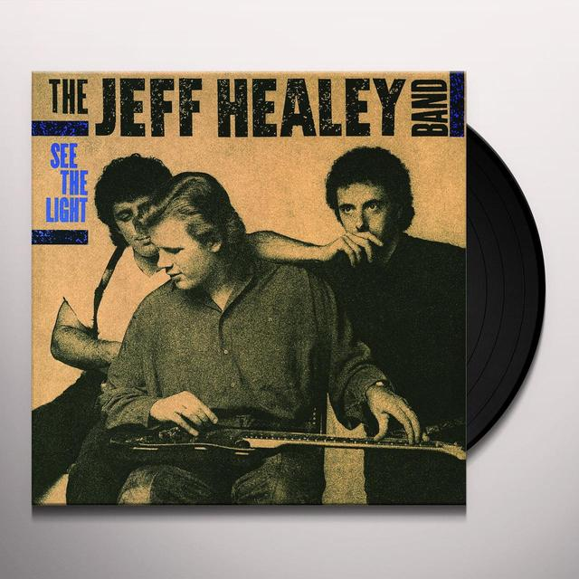 Jeff Healey SEE THE LIGHT Vinyl Record - Holland Import