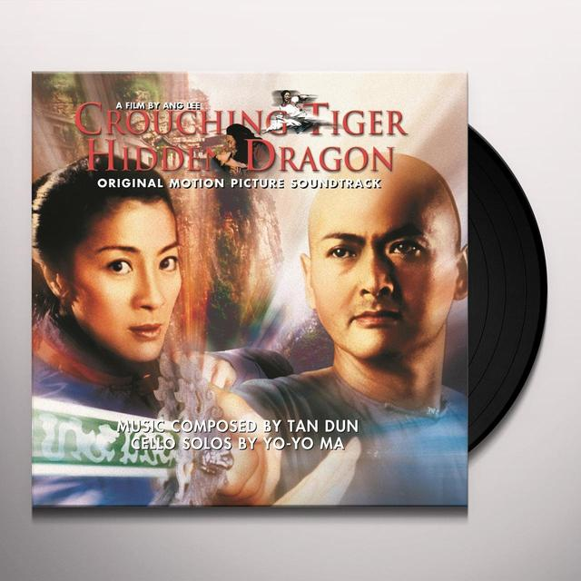 CROUCHING TIGER HIDDEN DRAGON / O.S.T. (HOL) CROUCHING TIGER HIDDEN DRAGON / O.S.T. Vinyl Record - Holland Import