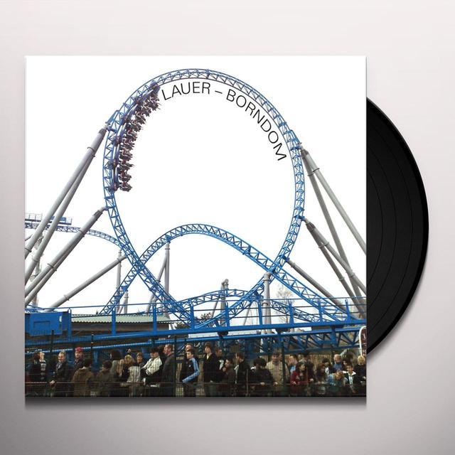 Lauer BORNDOM (BONUS CD) Vinyl Record - UK Import
