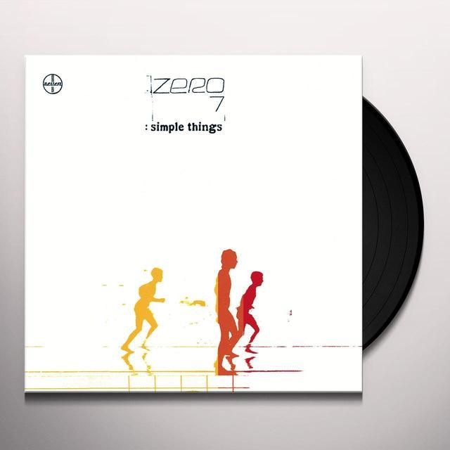 Zero 7 SIMPLE THINGS Vinyl Record - UK Release