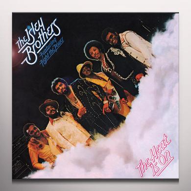 The Isley Brothers HEAT IS ON Vinyl Record - Colored Vinyl, Gatefold Sleeve, Limited Edition, 180 Gram Pressing