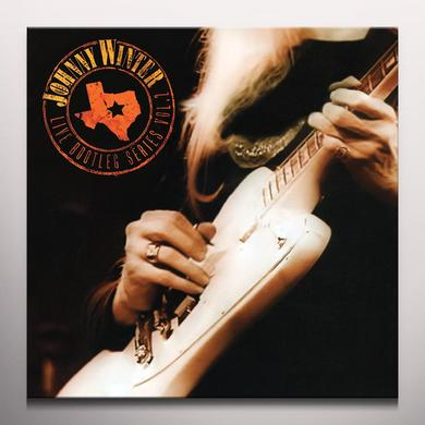 Johnny Winter LIVE BOOTLEG SERIES 2 Vinyl Record - Colored Vinyl, Limited Edition, 180 Gram Pressing