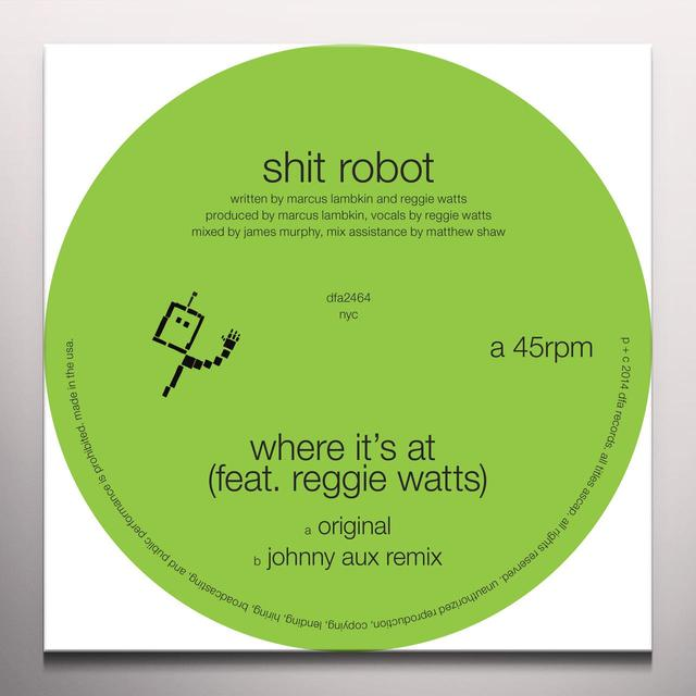 Shit Robot WHERE IT'S AT Vinyl Record - Colored Vinyl, Digital Download Included