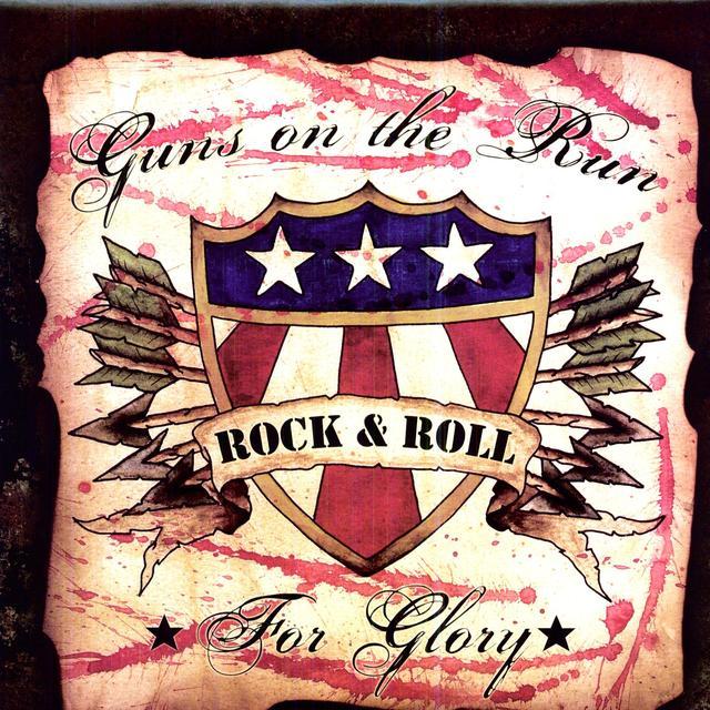 GUNS ON THE RUN FOR GLORY Vinyl Record