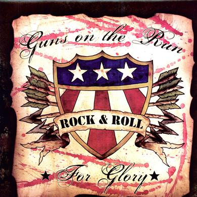 GUNS ON THE RUN FOR GLORY Vinyl Record