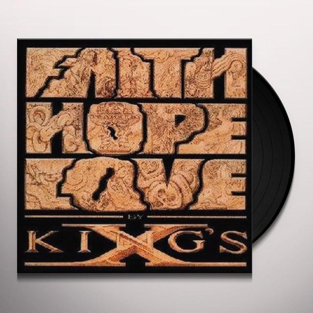 Kings X FAITH HOPE LOVE Vinyl Record
