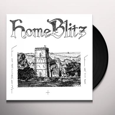 Home Blitz FOREMOST & FAIR Vinyl Record