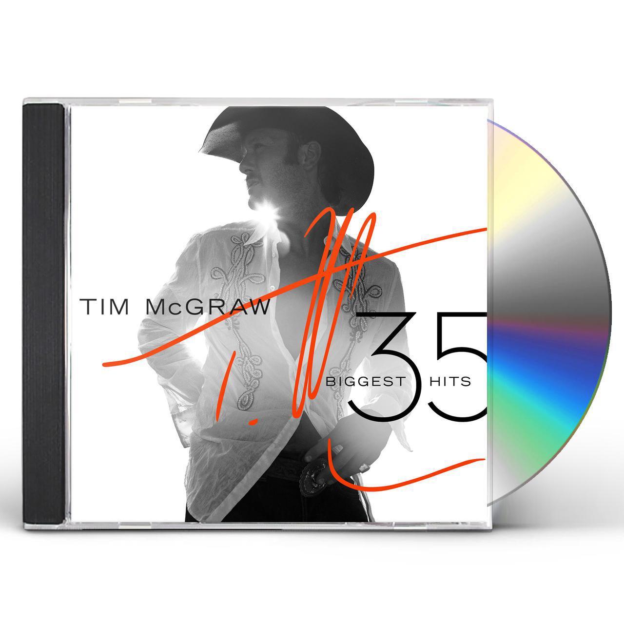 tim mcgraw 35 biggest hits cd