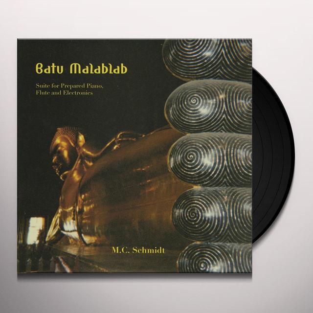 M.C. Schmidt BATU MALABLAB: SUITE FOR PREPARED PIANO FLUTE Vinyl Record