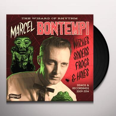 Marcel Bontempi WITCHES SPIDERS FROGS & HOLES: DEMOS & RECORDINGS Vinyl Record