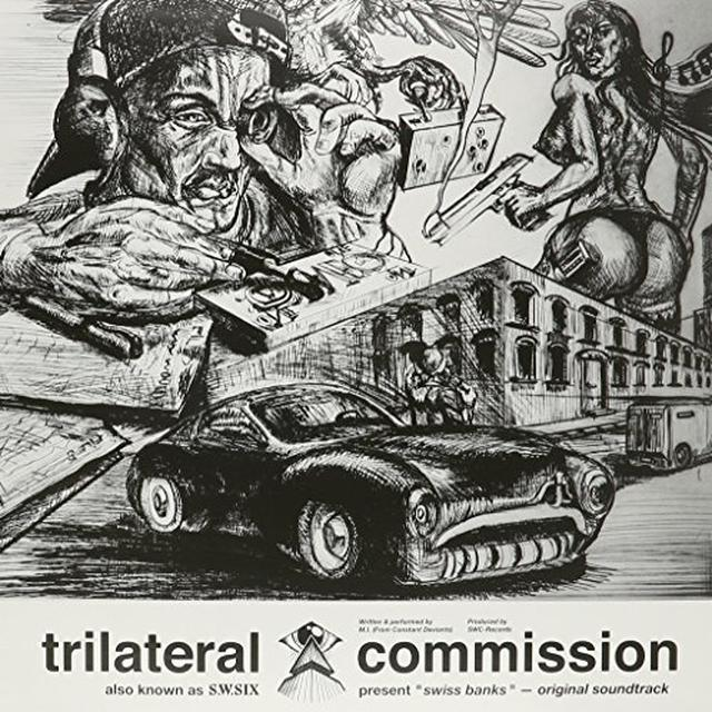 TRILATERAL COMMISSION SWISS BANKS / O.S.T. Vinyl Record