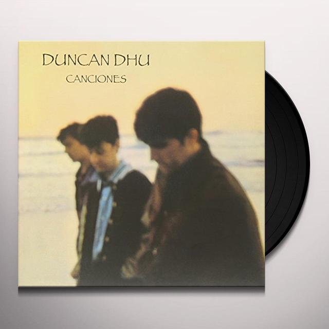 Duncan Dhu CANCIONES Vinyl Record - Spain Import