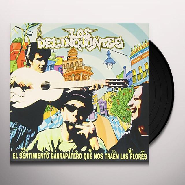 DELINCUENTES SENTIMIENTO GARRAPATERO Vinyl Record - Spain Import