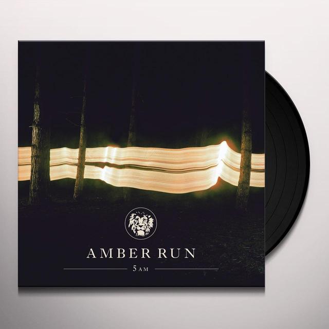 Amber Run 5AM Vinyl Record