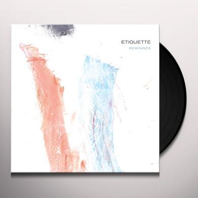 ETIQUETTE REMINISCE Vinyl Record