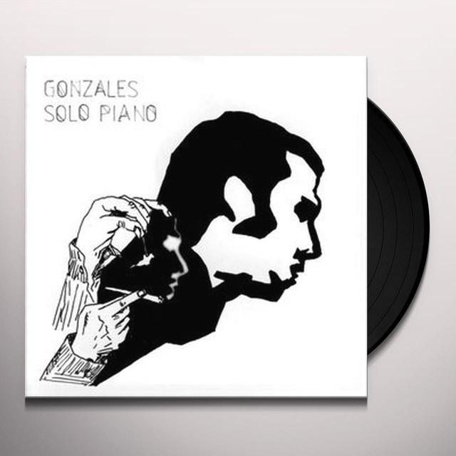 Chilly Gonzales SOLO PIANO Vinyl Record