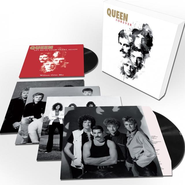 QUEEN FOREVER: DELUXE EDITION Vinyl Record