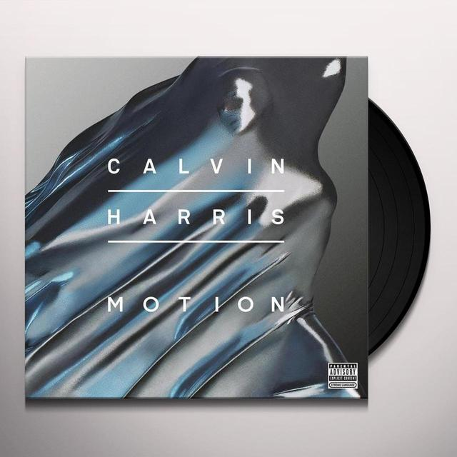 Calvin Harris MOTION Vinyl Record - Italy Import