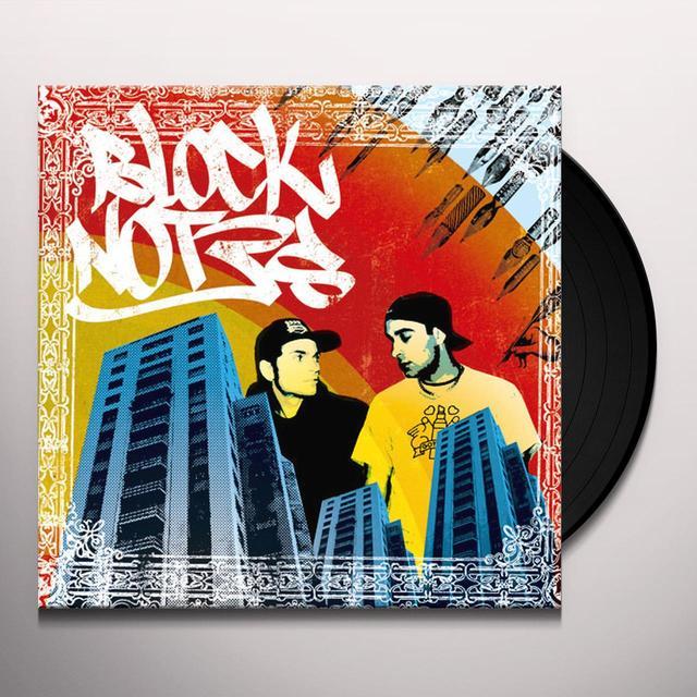 STOKKA & MADBUDDY BLOCKNOTES Vinyl Record - Italy Release