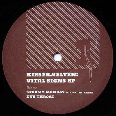 Kieser Velten VITAL SIGNS (DUBLEX INC. RMX) Vinyl Record