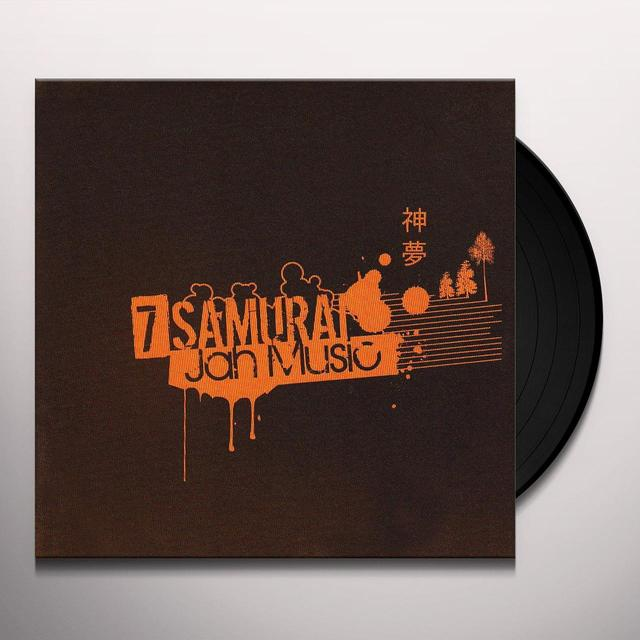 SEVEN SAMURAI 7-JAH MUSIC Vinyl Record - Australia Release