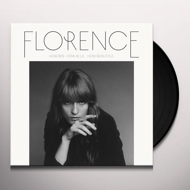 Florence and The Machine HOW BIG HOW BLUE HOW BEAUTIFUL Vinyl Record - UK Release