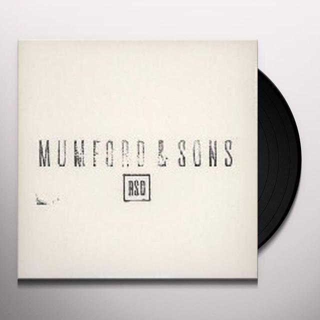 Mumford & Sons BELIEVE / THE WOLF Vinyl Record - UK Import
