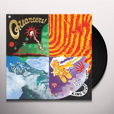 King Gizzard & The Lizard Wizard QUARTERS Vinyl Record - UK Import