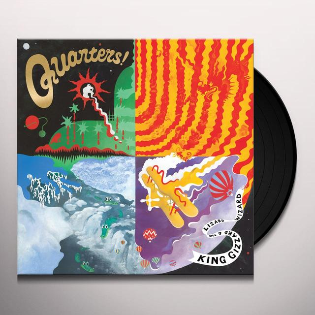 King Gizzard & The Lizard Wizard QUARTERS Vinyl Record - UK Import