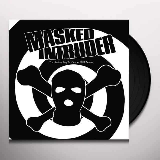 Masked Intruder INCRIMINATING EVIDENCE: 2011 DEMOS Vinyl Record