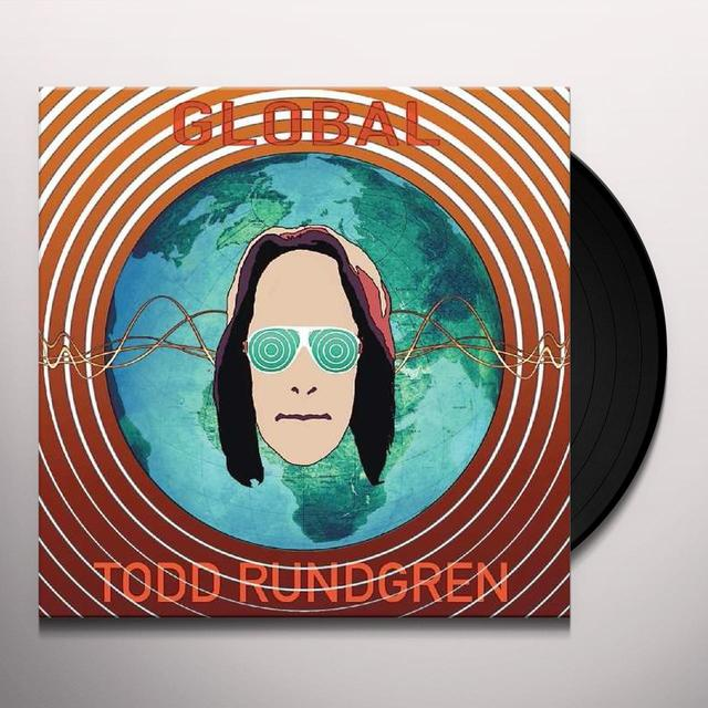 Todd Rundgren GLOBAL Vinyl Record