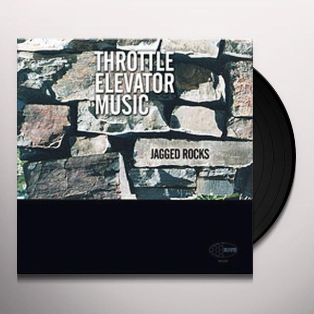 Throttle Elevator Music JAGGED ROCKS Vinyl Record