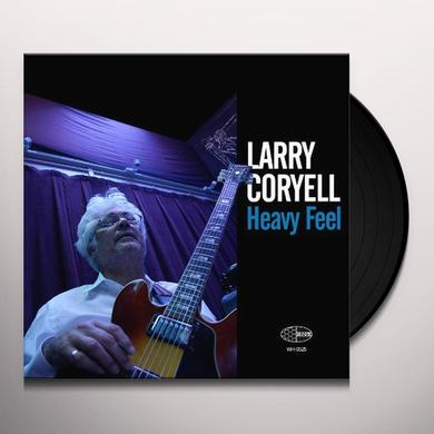 Larry Coryell HEAVY FEEL Vinyl Record