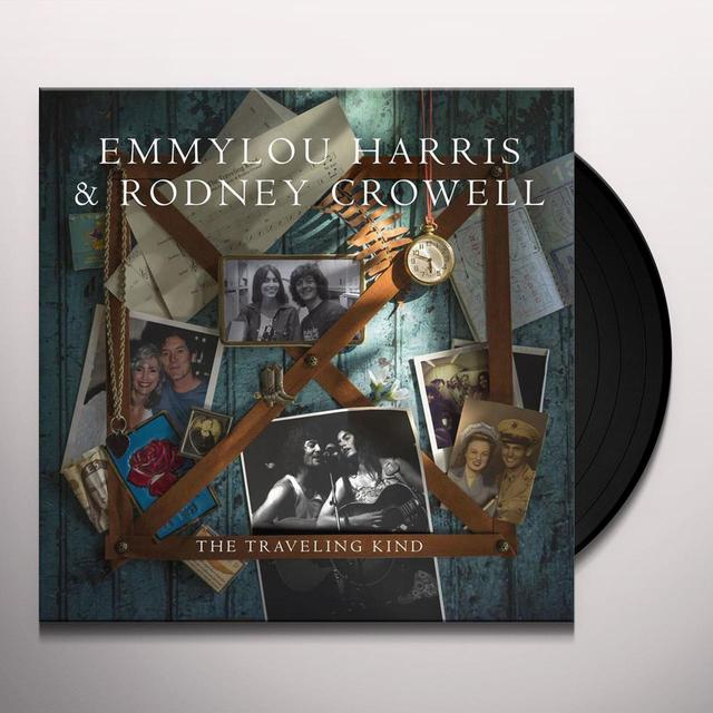 Emmylou Harris with Rodney Crowell TRAVELING KIND Vinyl Record - Digital Download Included