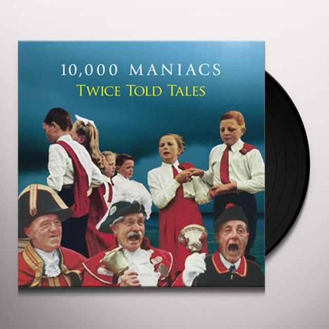 10 000 Maniacs TWICE TOLD TALES Vinyl Record