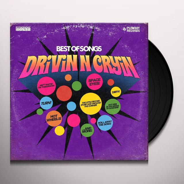 Drivin N Cryin BEST OF SONGS Vinyl Record