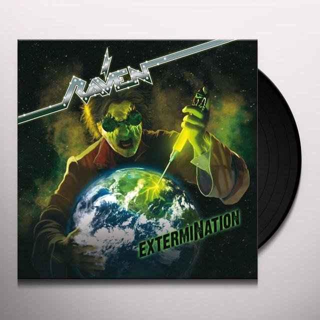 Raven EXTERMINATION Vinyl Record - w/CD
