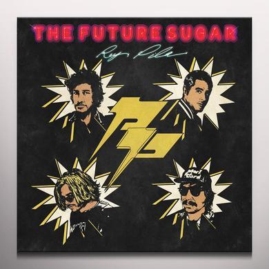 Rey Pila FUTURE SUGAR (BONUS TRACK) Vinyl Record - Blue Vinyl