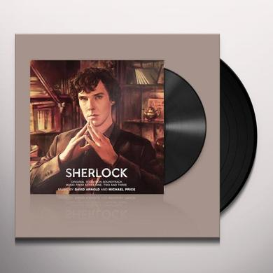 David Arnold / Michael Price SHERLOCK SERIES 1-3 / TV O.S.T. Vinyl Record - Black Vinyl, 180 Gram Pressing