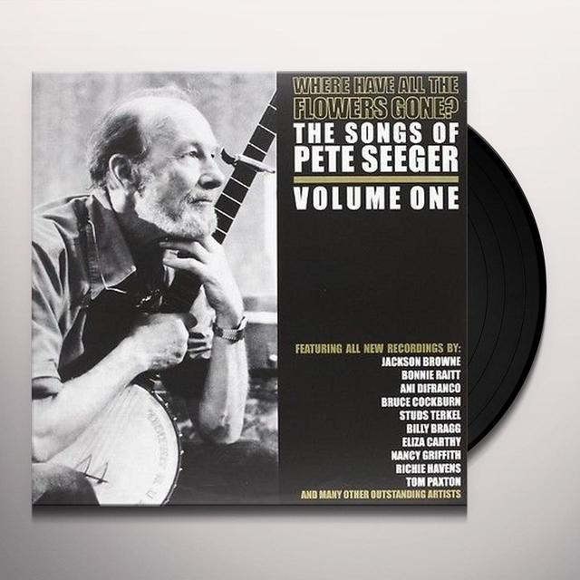 Pete Seeger WHERE HAVE ALL THE FLOWERS GONE Vinyl Record