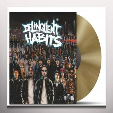 DELINQUENT HABITS (GOLD VINYL) Vinyl Record - Colored Vinyl, Holland Import