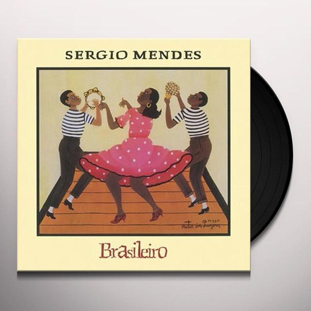 Sérgio Mendes BRASILEIRO Vinyl Record - Holland Import