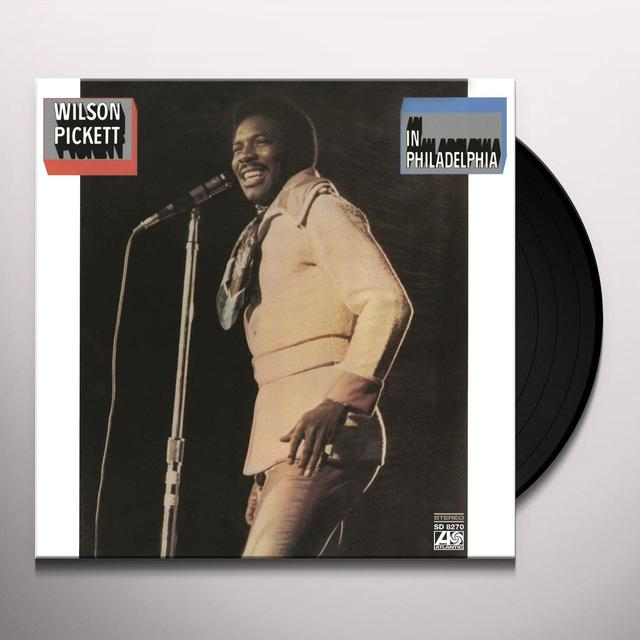 Wilson Pickett IN PHILADELPHIA Vinyl Record - Holland Release