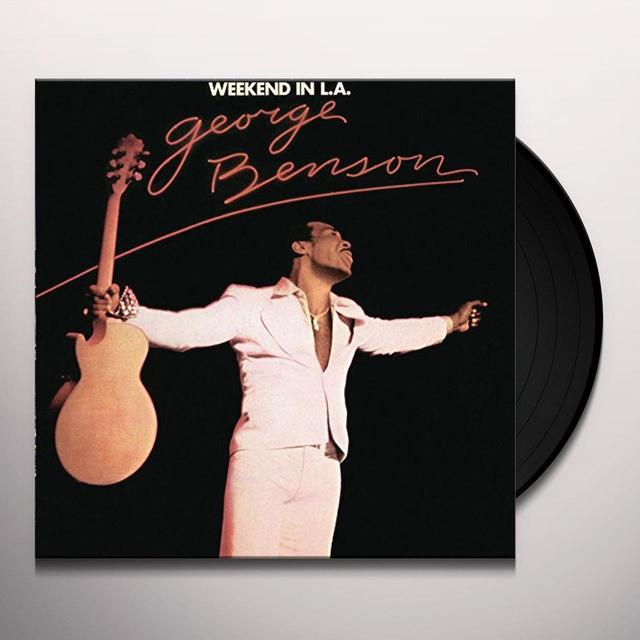 George Benson WEEKEND IN L.A. Vinyl Record - Holland Import